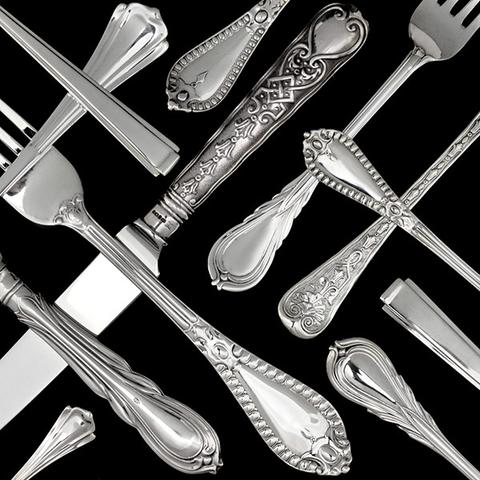 Other Patterns Flatware and Cutlery Sets - Detail of the design of this pattern