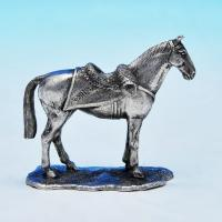 B1224:  Sterling Silver Horse - The London Assay Office Hallmarked In 2012 London - Elizabeth II - Image 1