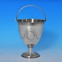 j7632: Antique Sterling Silver Sugar Basket - Hester Bateman Hallmarked In 1782 London - George III Georgian - image 1