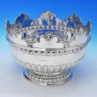 B2141: Antique Sterling Silver Bowls - Lambert & Co Hallmarked In 1893 London - Victorian - Image 1