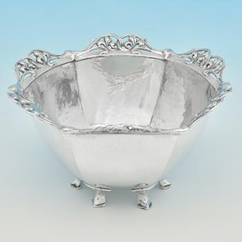 B7260:  Sterling Silver Bowls - Omar Ramsden Hallmarked In 1936 London - Edward VIII - Image 1