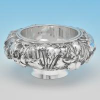 B7836: Antique Sterling Silver Bowls - Elkington & Co. Hallmarked In 1913 Birmingham - George V - Image 1