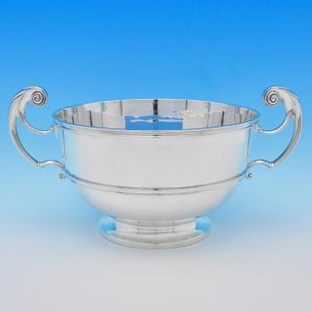 B8474: Antique Sterling Silver Bowls - Charles Stuart Harris Hallmarked In 1901 London - Victorian - Image 1