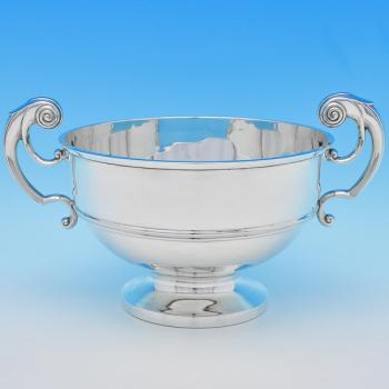 B8913: Antique Sterling Silver Bowls - Walker & Hall Hallmarked In 1903 Sheffield - Edwardian - Image 1