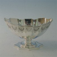 e6581: Antique Sterling Silver Bowls - Savoury Bros. Hallmarked In 1880 London - Victorian - image 1