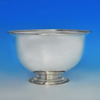 j5311: Antique Sterling Silver Bowl - Paul Storr Hallmarked In 1798 London - George III Georgian - image 1