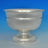 j7090: Sterling Silver Bowl - Hallmarked In 1930 Birmingham - George V  - image 1