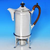 B0385: Antique Sterling Silver Coffee Biggin - Unknown Hallmarked In 1807 Edinburgh - Georgian - Image 1