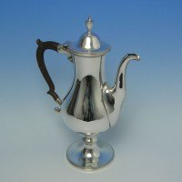 e6205: Antique Old Sheffield Plate Coffee Pots - Circa 1780 - George III Georgian - image 1