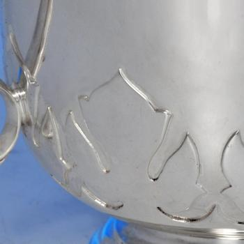B1341:  Sterling Silver Loving Cup - Goldsmiths & Silversmiths Co. Hallmarked In 1937 London - George VI - Image 3