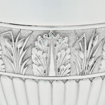B6770a: Antique Sterling Silver Cups - Gibson & Langland Hallmarked In 1889 London - Victorian - Image 2