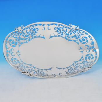 B0740:  Sterling Silver Dish - Walker & Hall Hallmarked In 1956 Sheffield - Elizabeth II - Image 1
