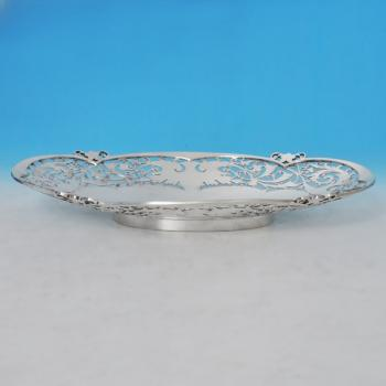 B0740:  Sterling Silver Dish - Walker & Hall Hallmarked In 1956 Sheffield - Elizabeth II - Image 3