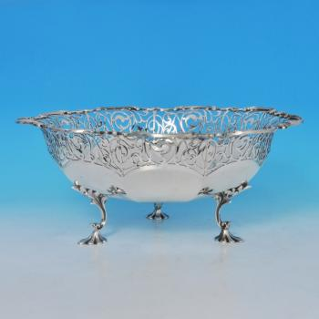 B1055:  Sterling Silver Dish - James Dixon & Sons Hallmarked In 1913 Sheffield - George V - Image 1