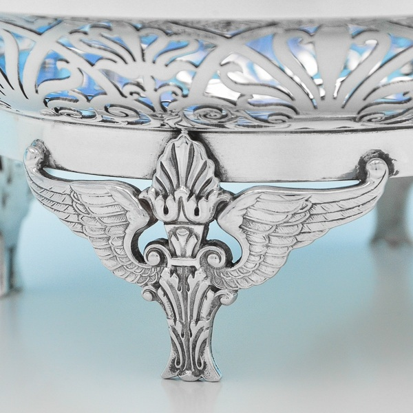 B7179: Antique Sterling Silver Dishes - Mappin & Webb Hallmarked In 1910 London - Edwardian - Image 2