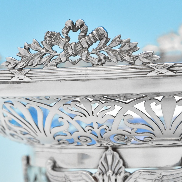 B7179: Antique Sterling Silver Dishes - Mappin & Webb Hallmarked In 1910 London - Edwardian - Image 3