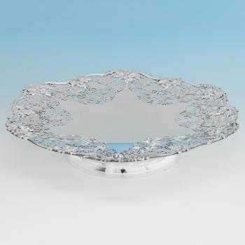 B9668:  Sterling Silver Dish - Henry Atkins Hallmarked In 1944 Sheffield - George VI - Image 1