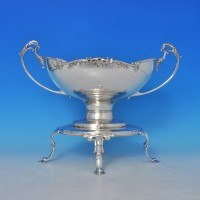 j8108: Sterling Silver Epergne - P. Ashbury & Sons. Hallmarked In 1927 Sheffield - George V  - image 1