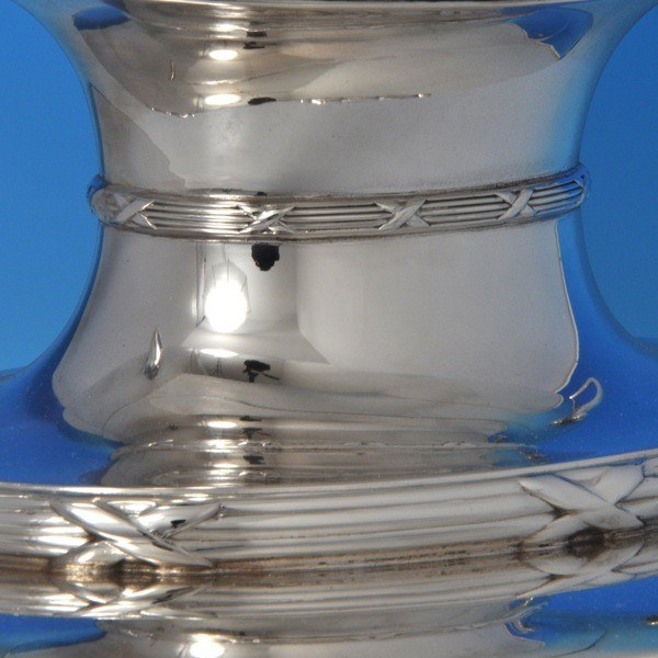 j8108: Sterling Silver Epergne - P. Ashbury & Sons. Hallmarked In 1927 Sheffield - George V  - image 4