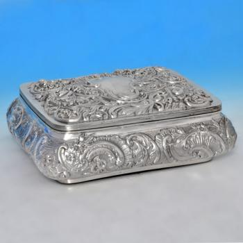 Silver Antique Jewellery Box Best 2000 Antique decor ideas