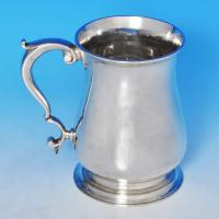 B1151: Antique Sterling Silver Mug - James Morison Hallmarked In 1759 London - Georgian - Image 1