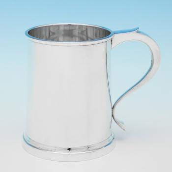 L0003:  Sterling Silver Mug - Page, Keen & Page Hallmarked In 1937 London - George VI - Image 1