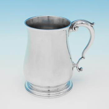 L0847: Antique Sterling Silver Mug - Robert Innes Hallmarked In 1753 London - Georgian - Image 1
