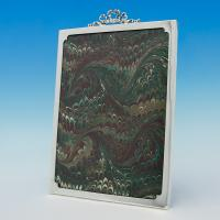 B6069:  Sterling Silver Photograph Frames - Sydney & Co. Hallmarked In 1916 Birmingham - George V - Image 1