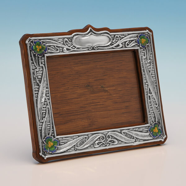 Photograph Frame In Sterling Silver