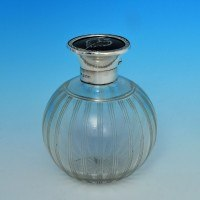 j6002: Sterling Silver Scent Bottle - Hallmarked In 1921 Birmingham - George V  - image 1