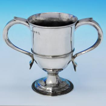 B1828: Antique Sterling Silver Trophy - Hester Bateman Hallmarked In 1787 London - Georgian - Image 1