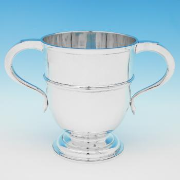 B9434: Antique Sterling Silver Trophy - Charles Stuart Harris Hallmarked In 1904 London - Edwardian - Image 1