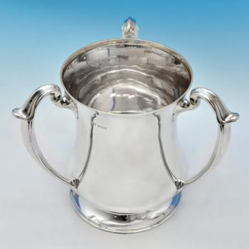 D4644:  Sterling Silver Trophy - Henry Atkins Hallmarked In 1920 Sheffield - George V - Image 1